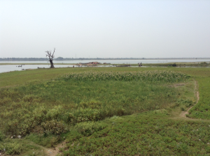 Views from U-Bein Bridge